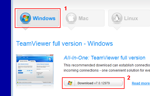 Select OS and download Full Version